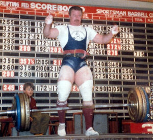 Ian King powerlifting champion